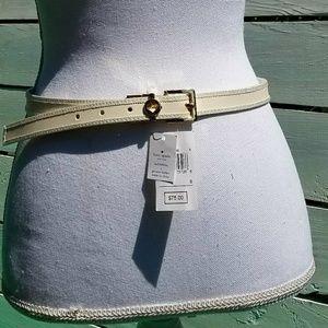Kate Spade elegant minimalist belt